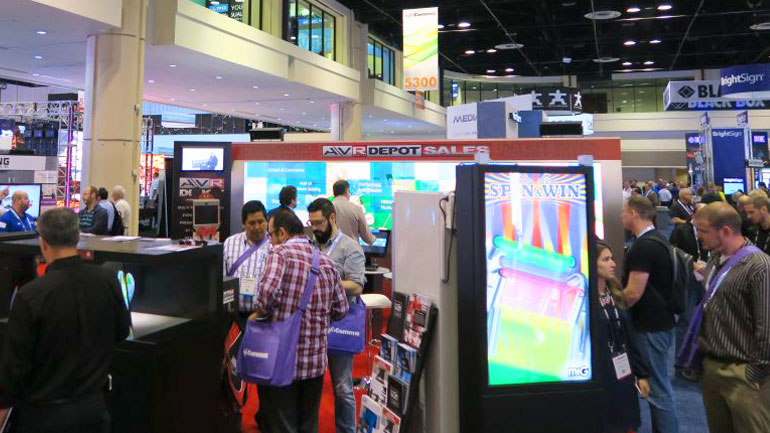 Motion Attracts Trade Show Visitors